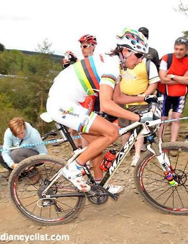 Marga Fullana (Massi) left no doubt who was the strongest in Belgium.