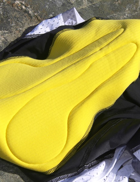 Panache use a well-shaped Cytech stretch chamois with just the right amount of padding and smooth seams that don't irritate even after hours in the saddle