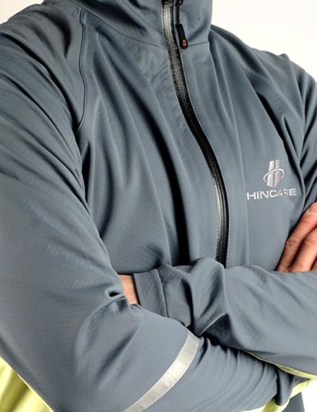 The Hincapie Flanders rain jacket offers impressive protection from rain and road spray