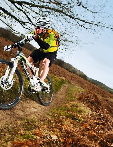 Fast and fl owing trails are exactly what the Rush loves best