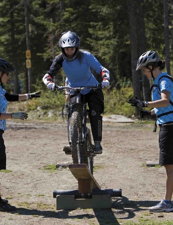 Learning skills in Whistler, British Columbia.