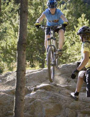 Steep rocks are no problem at Dirt Series!
