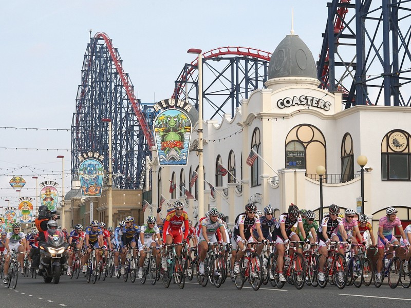 Last year's Tour of Britain visited Blackpool