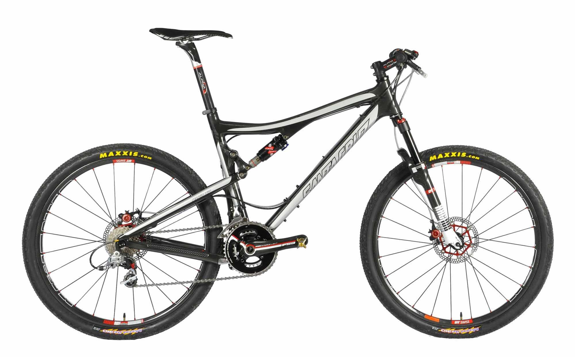 The custom Speedgoat Blur XC carbon bike.