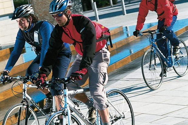 Evidence suggests that cycling gets safer the more cyclists there are