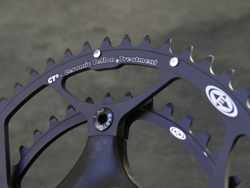 Easton have wisely tapped Stronglight for their excellent chainrings