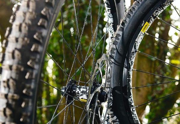 Mavic Deetraks Wheelset