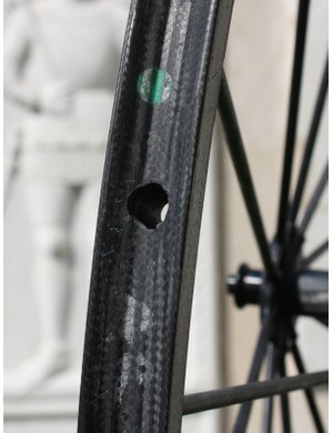 The fully sealed valve hole and lack of traditional spoke junctions make it virtually impossible for water to get inside the rim