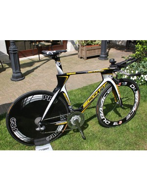 Team Columbia-High Road will have a new time trial machine at their disposal with Scott's new Plasma 3.