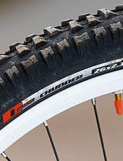 Specialized Chunder tyres are super tacky and great in the corners