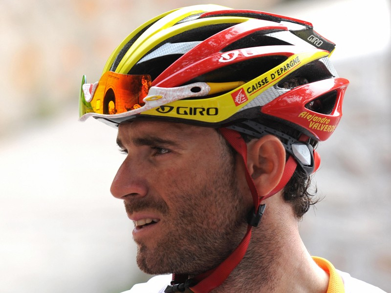 Alejandro Valverde is banned from racing in Italy for two years