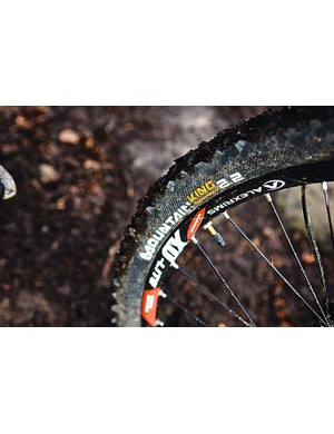 Conti Mountain Kings offer good all-round grip