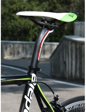 All SuperSix Hi-Mod frames will use a 31.6mm seatpost.