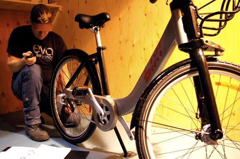 The Bixi is a unique bike designed for pure transportation.