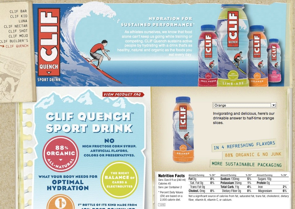 The Clif Quench energy drink, coming to the U.S. in June.