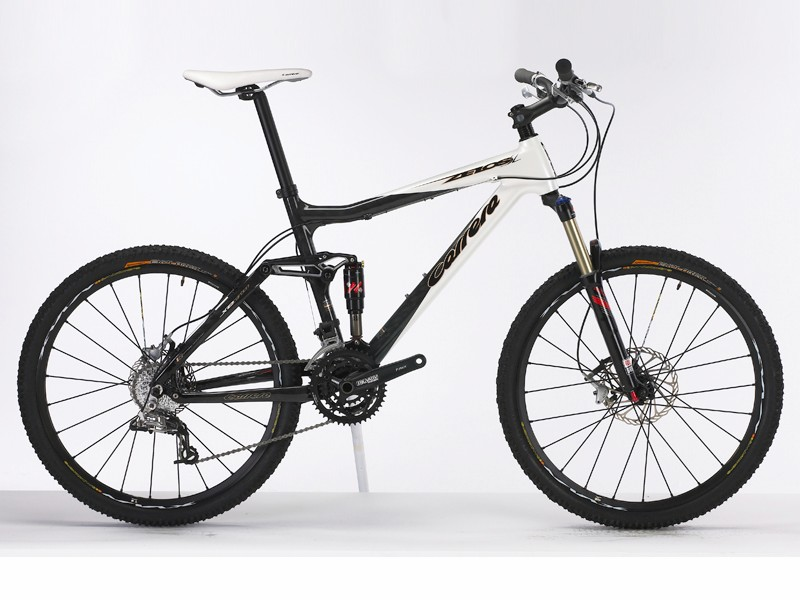 The new Carrera Zelos SL is a carbon fibre singletrack whippet