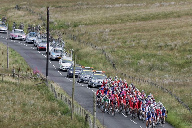 Road closures in the Etape Caledonia have annoyed local residents