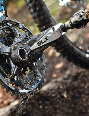 Shimano's very impressive SLX group dominates