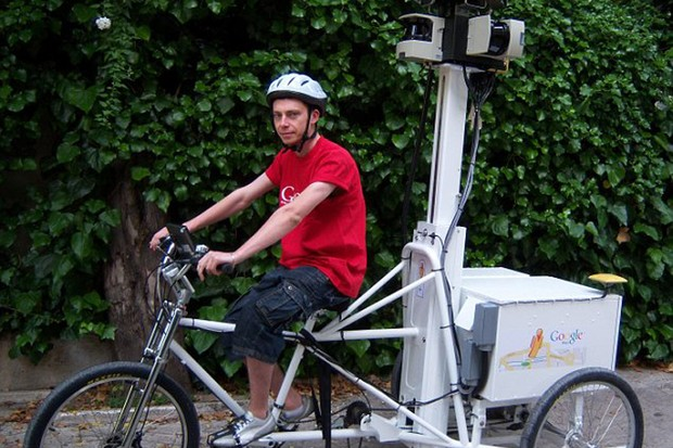 Google's new Street View trike will map the UK's tourist hotspots this summer