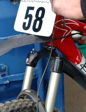 ...and also allows direct fitting of a race number plate