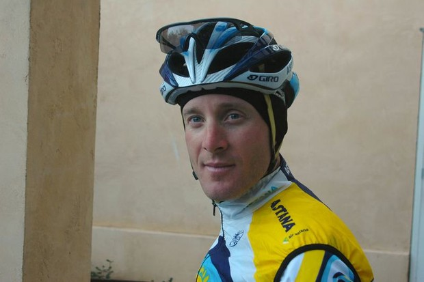 Astana's Levi Leipheimer, Sonoma County, California resident and GranFondo guide come October 3, 2009.