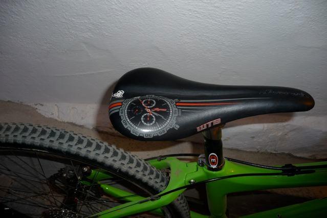 WTB Lopes 55 crono custom saddle.