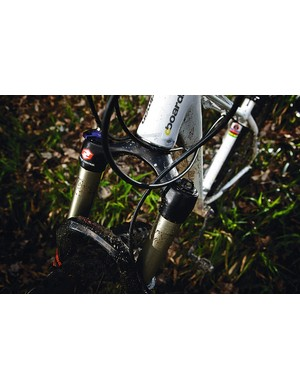 The Reba fork is a real treat and is supple and light