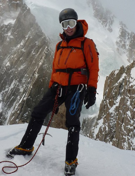 Mark Beaumont training for his American challenge in Chamonix