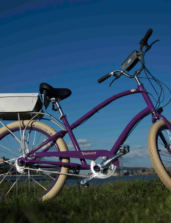 An ugly bike, but according to the Lancaster City Council, it's a useful tool for Bike Week.