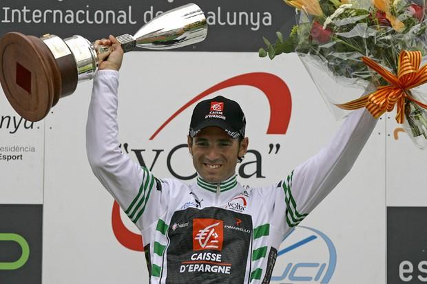 Alejandro Valverde won the Tour of Catalonia