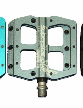 Superstar have three pedal designs - Nano Tech, Nano Thru Pin and Mag Lite