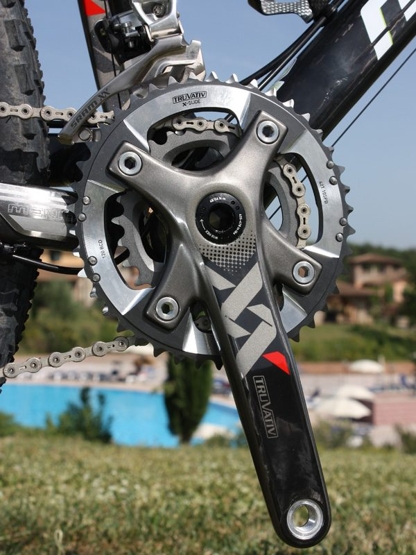 SRAM//Truvativ XX 39T x 120mm BCD Short Pin Chainring for BB30 Cranks Use