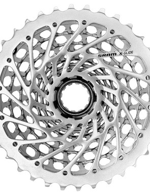 Any issues with mud and debris packing up the cassette are seemingly abated with XX's heavily milled-out structure