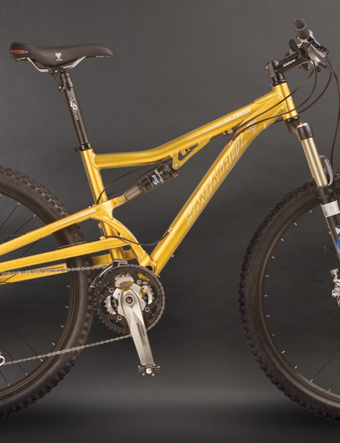 The 2009 Santa Cruz Juliana full-suspension bike