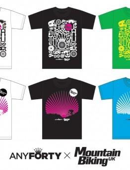 The six designs