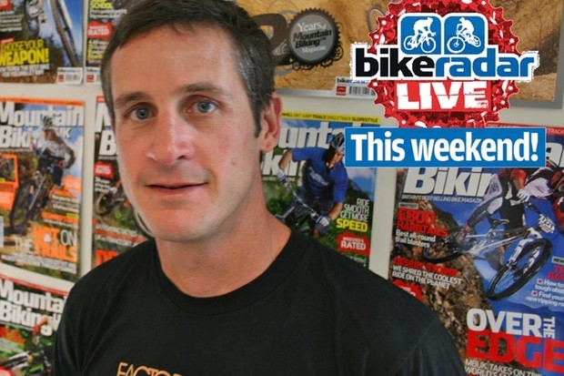 Brian Lopes is coming to BikeRadar Live on 30-31 May