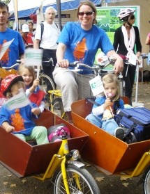 Pedal Power for Parents in Richmond won a Transport For London award