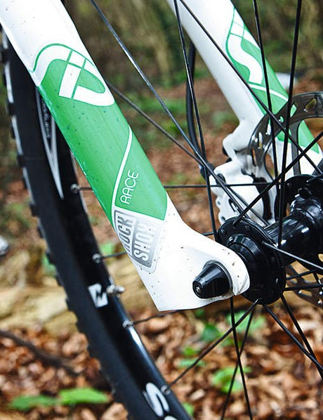 The RockShox Sid fork is the perfect length for great handling