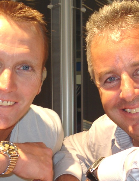 Geoff Thomas and Stephen Roche will be appearing at BikeRadar Live