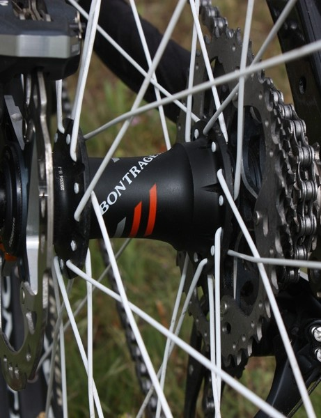 …but we had issues with both the bearings and the the freehub mechanism on the rear.