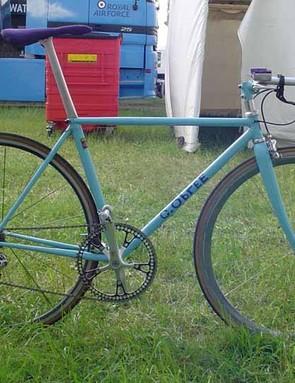 Graeme Obree's new bike