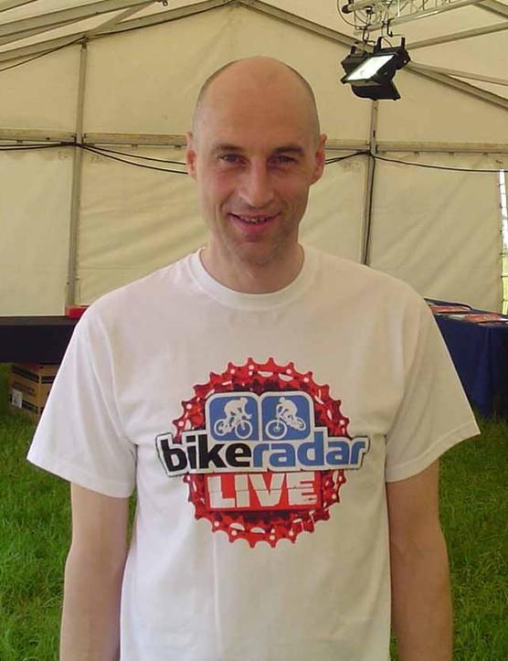 Graeme Obree at BikeRadar Live