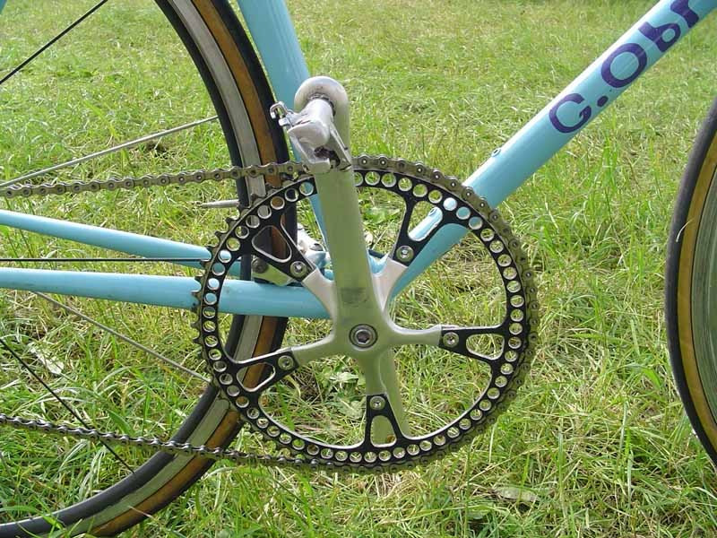 Check out that chainring