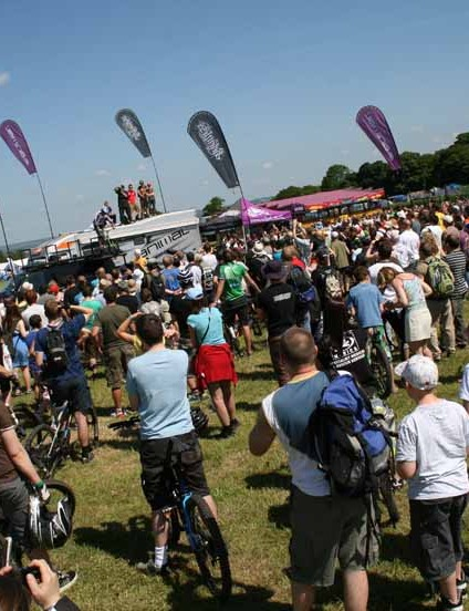 Big crowds gathered to watch the Animal Relentless boys