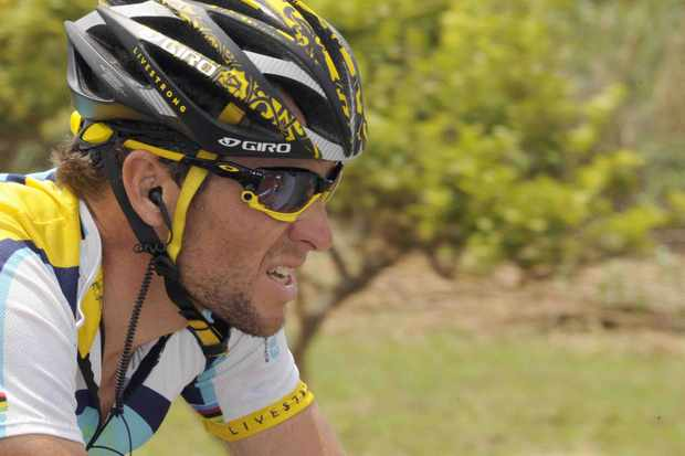 Lance Armstrong showed his ever-increasing strength during the recent Giro.