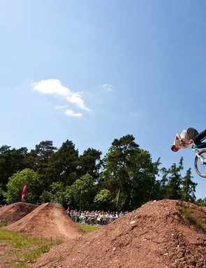 Will Longden's beautifully crafted trails proved to be as insane as it looked.