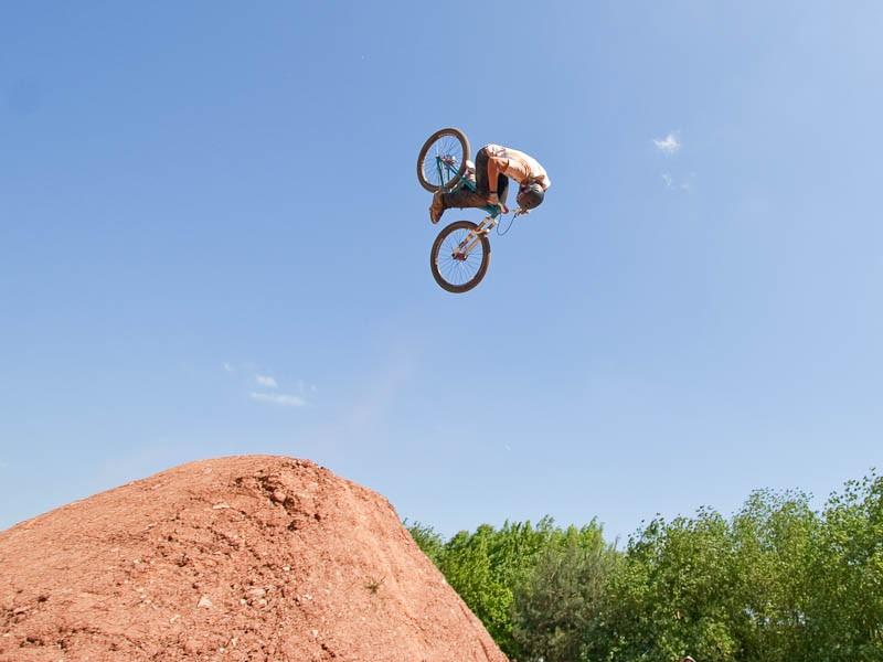 Sam Reynolds front flip 2