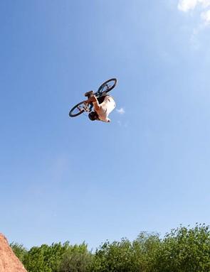 Sam Reynolds front flip 3