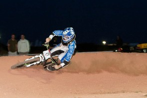 Danny Hart leaves a trail of dust in his wake