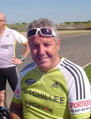 Stephen Roche enjoyed the Devil Takes the Hindmost